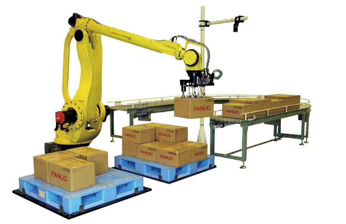 slewing bearing for palletizing robots